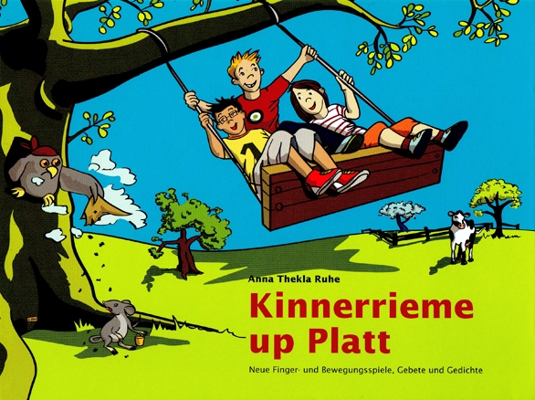 Kinnerrieme up Platt